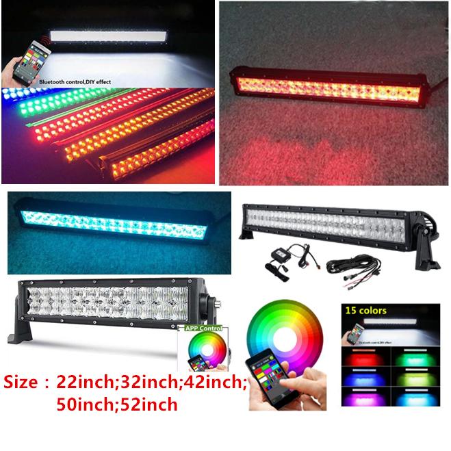 5D RGB led light bar