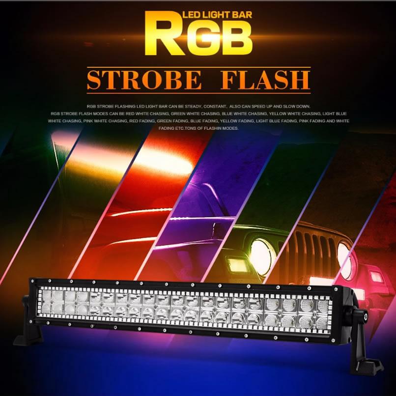 Stream RGB led light bar