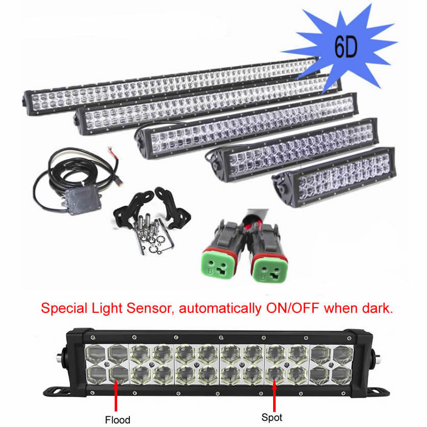 6D Lens Light Bar