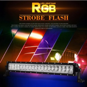 Stream RGB led light bar