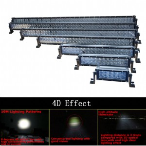 4D LED Light Bar