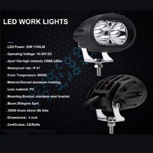 LED Motorcycle Light Series