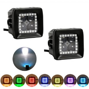 RGB led work light